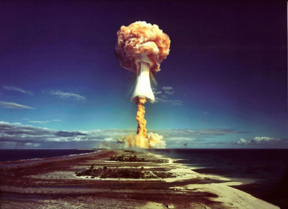 Nuclear Test - France