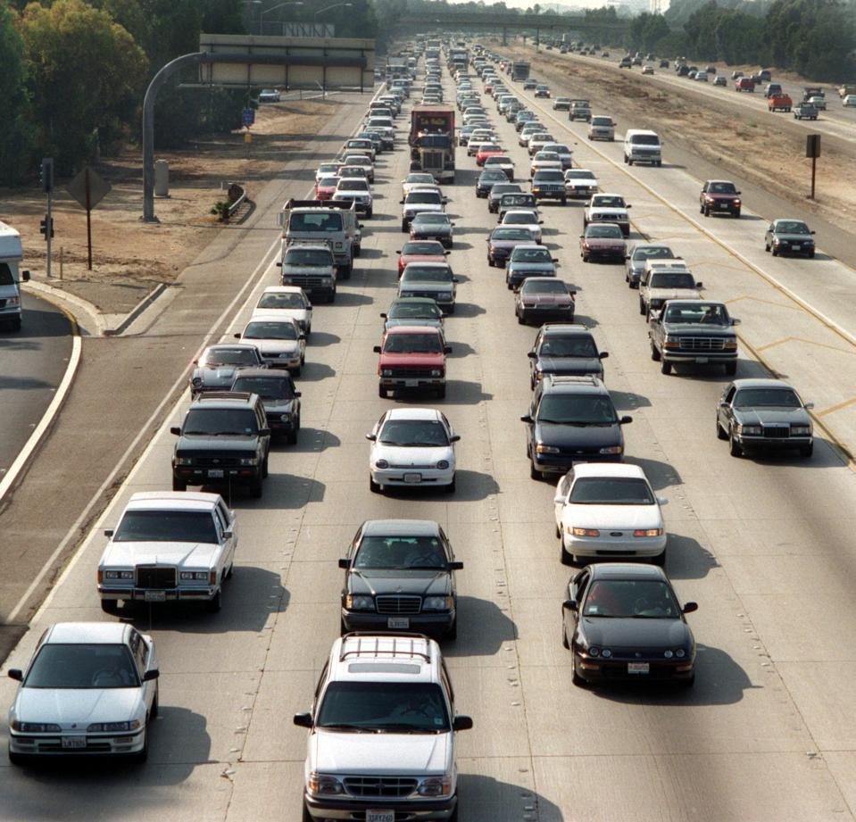 ME.Traffic / Jam. 0927.GK –Le trafic a été interrompu sur la 405 en direction sud à la suite d'un accident impliquant une