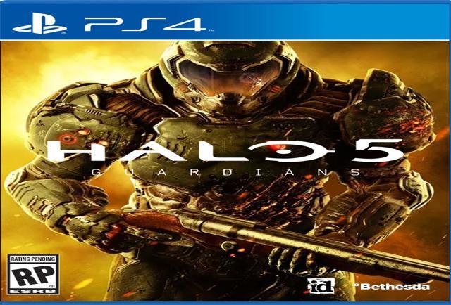 Doom Box Art Halo 5 Guardians Pg 1