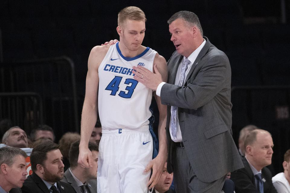 The Big East canceled the quarterfinal game between St John's and Creighton at halftime due to the coronavirus pandemic.