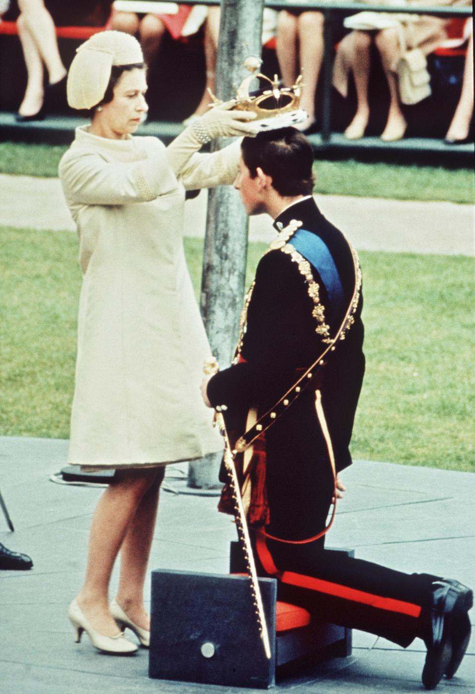 The Investiture of The Prince of Wales...