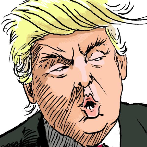 29 Of The Most Fantastic Donald Trump Cartoons About The Bigliest First 100 Days Ever