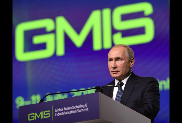 In Russia, Putin Prefers Birds Over Windmills