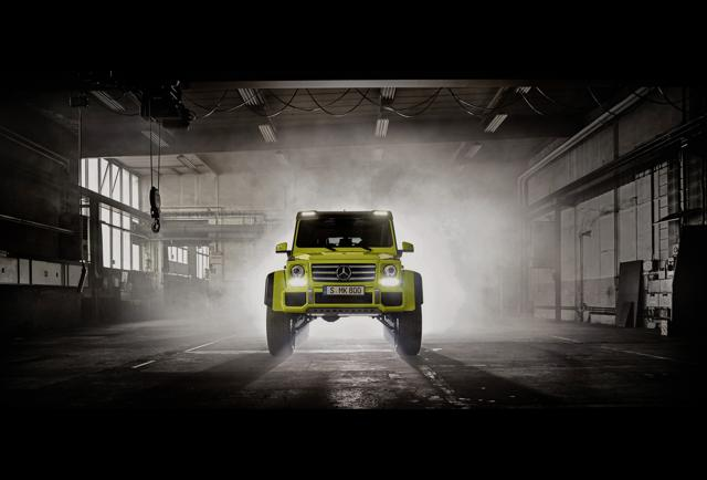 Mercedes Outrageous New G Class Suv Pg 9