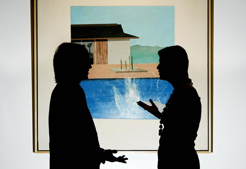 'Anonymous' Collector Sells Hockney's 'The Splash' In London For $30 million