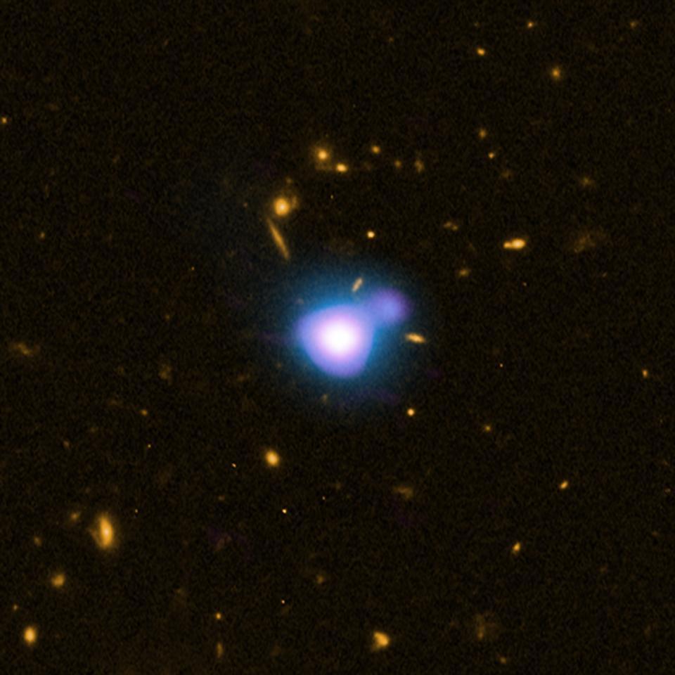 El chorro de rayos X más distante del universo desde Quasar GB1428.
