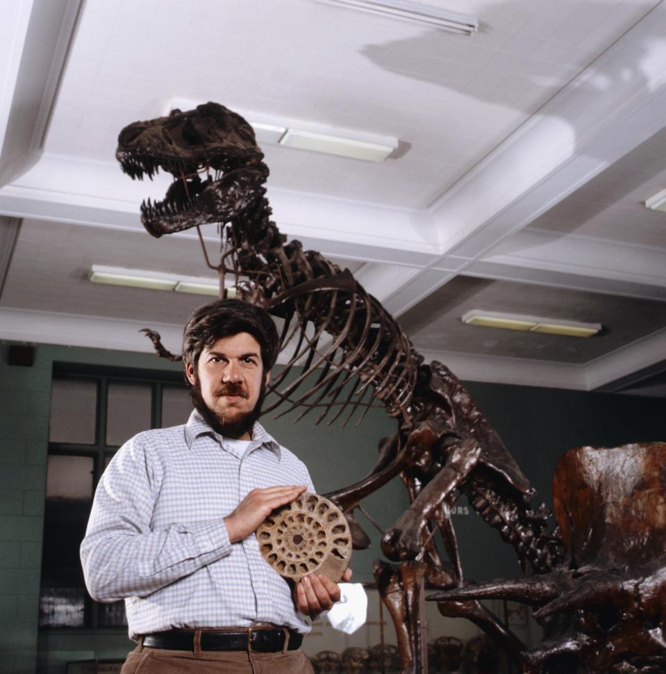 American Paleontologist Stephen Gould