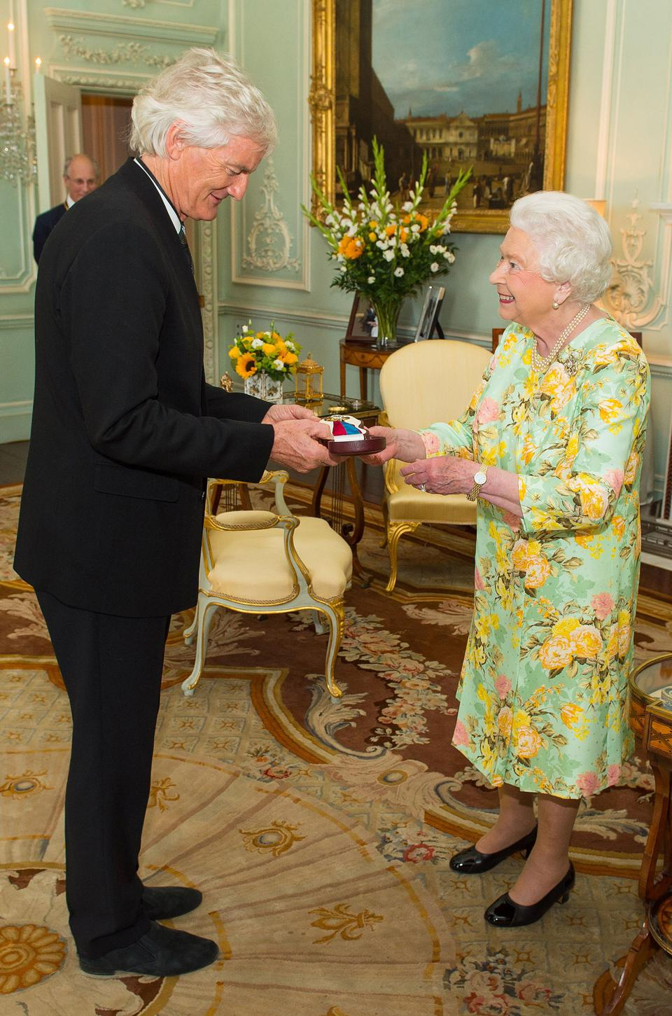 BRITAIN-ROYALS-AWARD