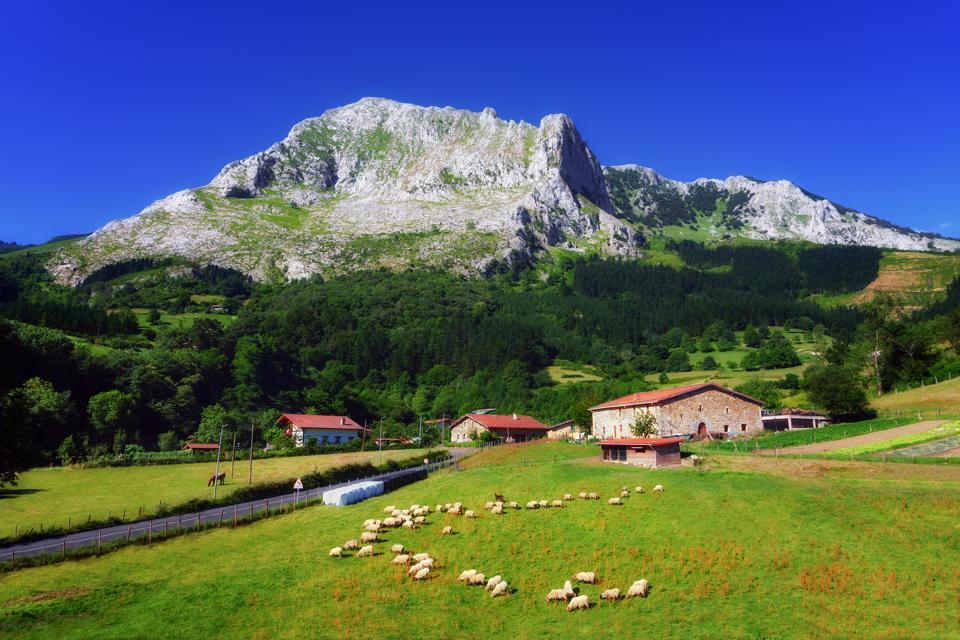 Arrazola village in Basque Country