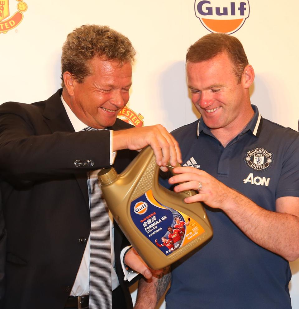 Manchester United Announce Partnership with Gulf Oil