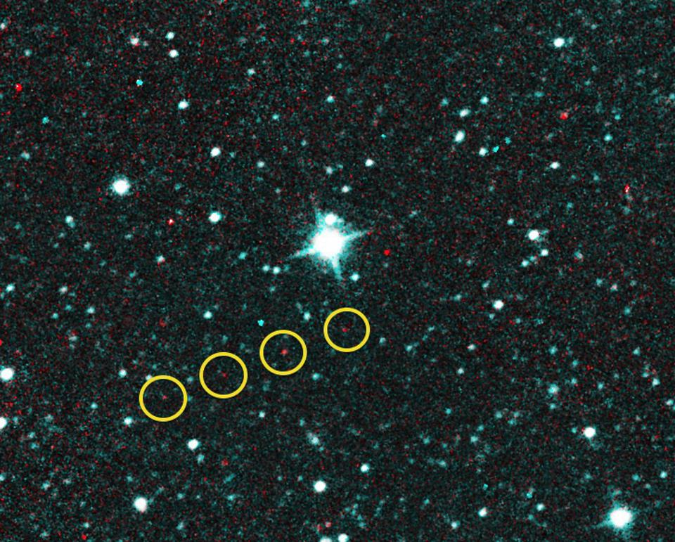 Very faint objects can be detected with dedicated astronomical surveys.