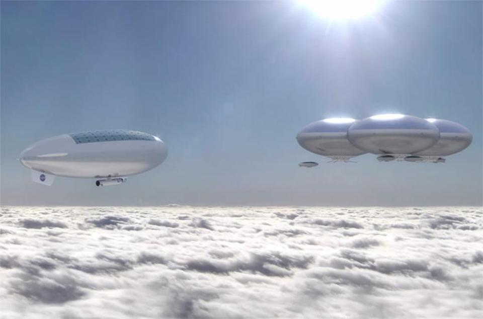 NASA's hypothetical HAVOC mission: High-Altitude Venus Operational Concept.
