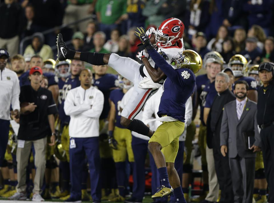 Georgia-Notre Dame Challenging Schools' Last Meeting To Become College Football's Priciest Ticket