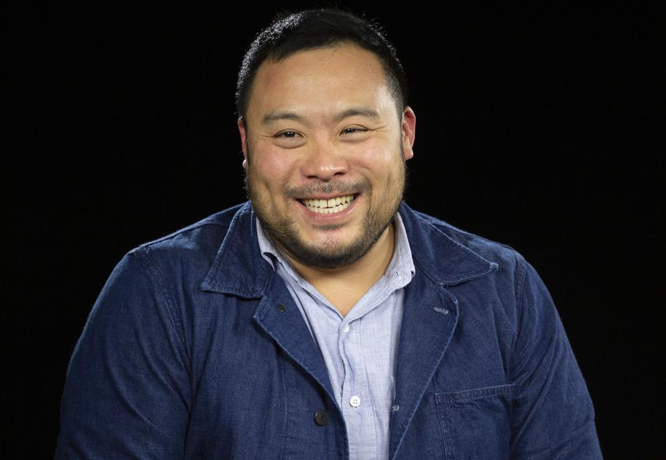 Celebrity chef David Chang
