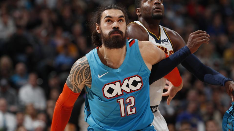 Thunder Nuggets Basketball