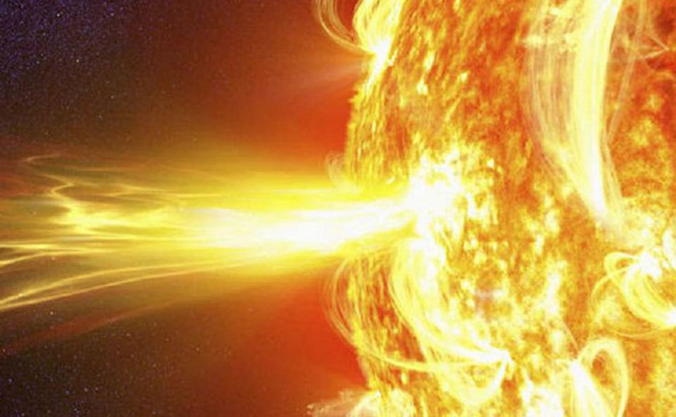 A solar flare from our Sun