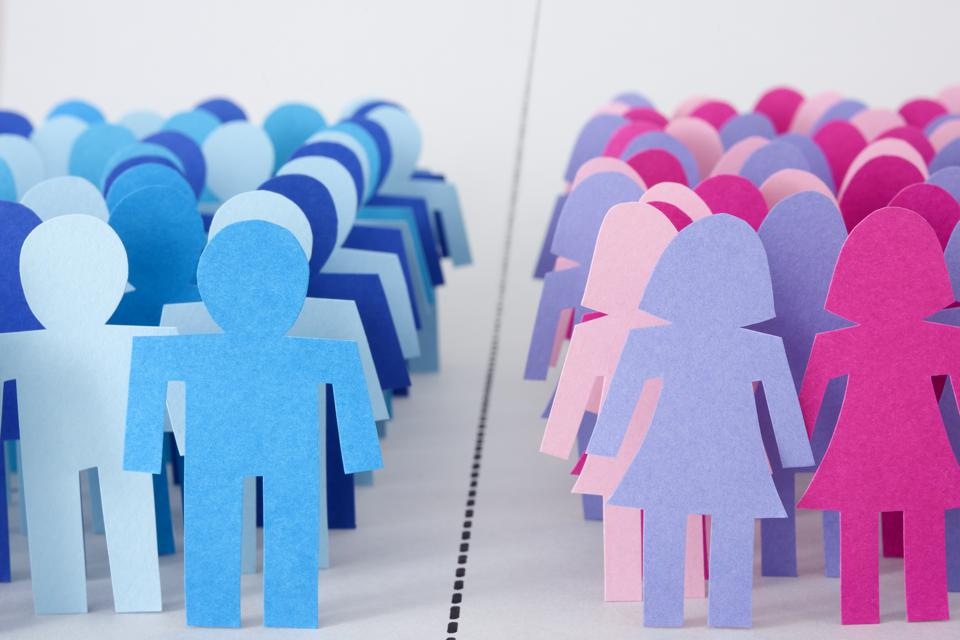 Divided men and women