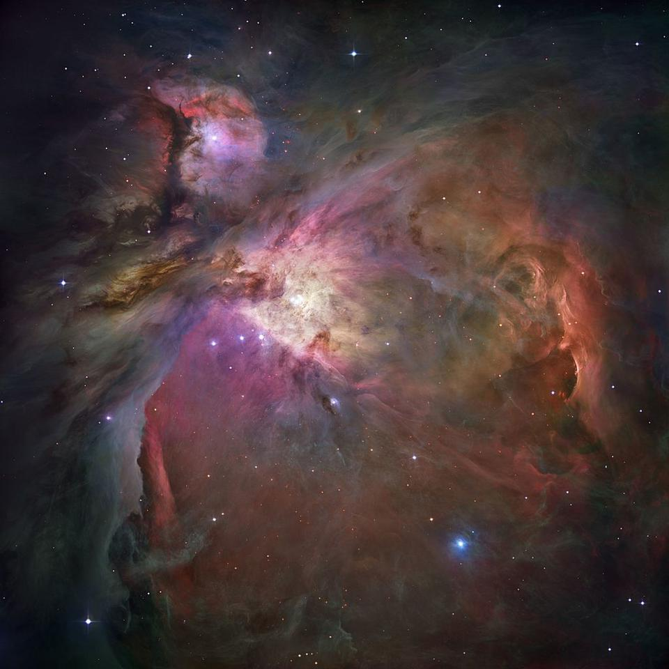 The great Orion Nebula is a fantastic example of an emission nebula.