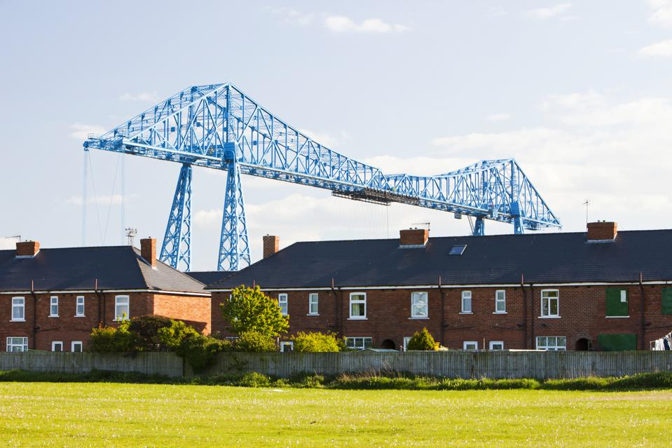 The Middlesbrough Bridge northeast england