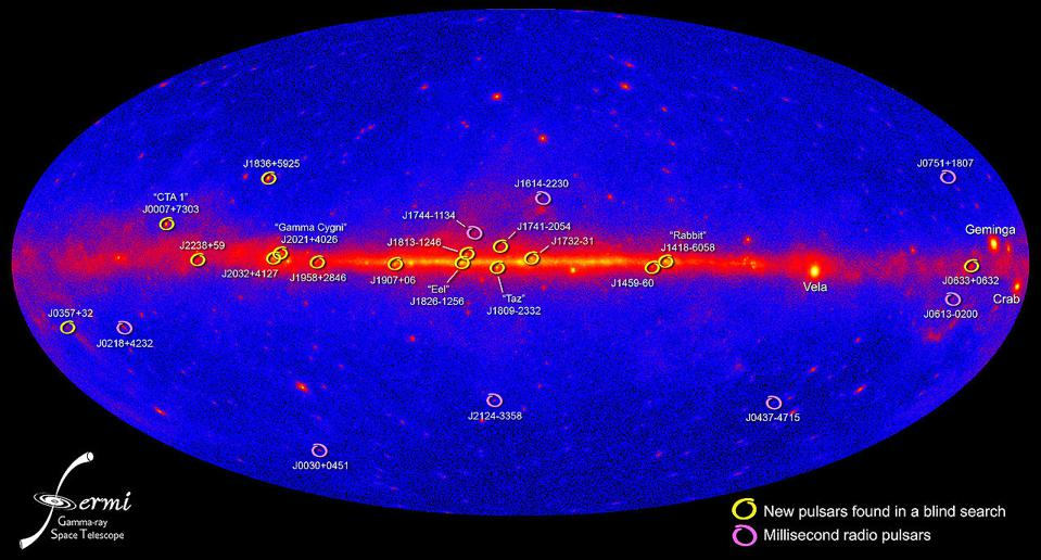 Largest, highest-resolution gamma-ray map of the entire sky, from NASA's Fermi.