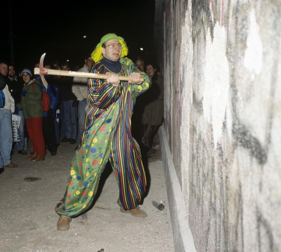 जर्मनी, बर्लिन की दीवार गिरने के बाद 31 दिसंबर, 1989 को बर्लिन उत्सव (1989/12/31)