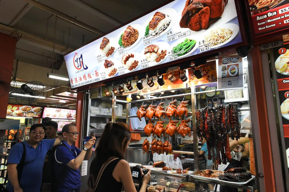 Restaurant Business In Turmoil As $1,400 Dinner Meets $1.50 Michelin Star Food Stall