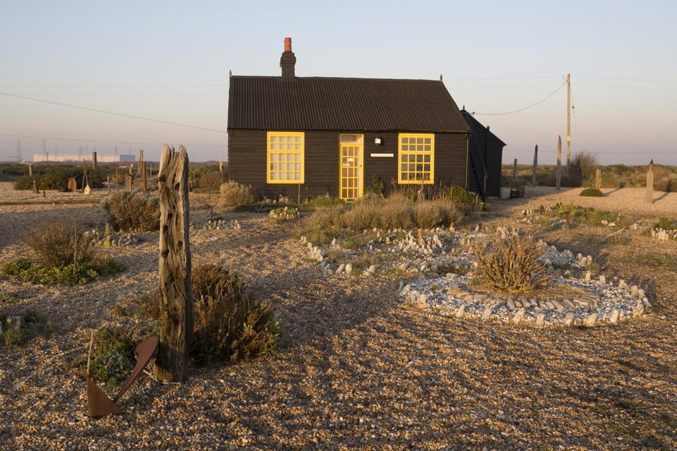 UK - Art - Derek Jarman's Prospect Cottage in Dungeness