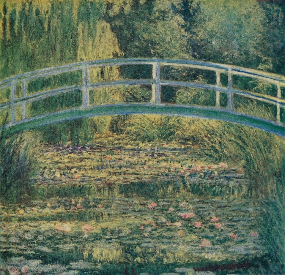 Monet's Water Lily Pond, Green Harmony, from 1899