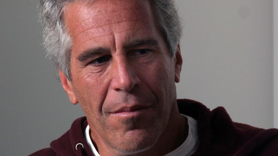 Epstein was arrested in New Jersey Saturday after returning from vacation in France.