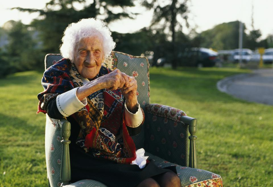 JEANNE CALMENT THE WORLD'S OLDEST PERSON