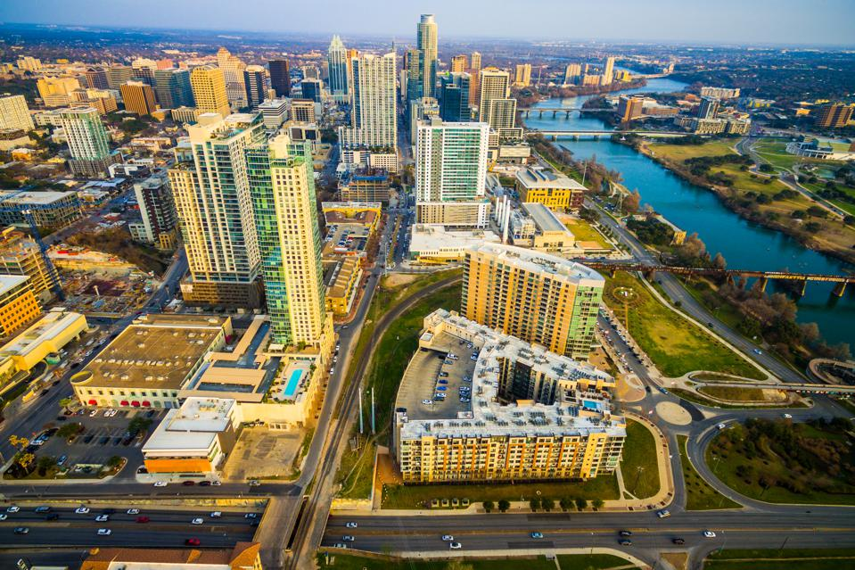 Austin, Texas from above