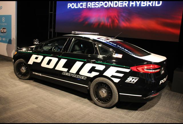 fords new hybrid police car means cops can eat donuts without guilt about pollution