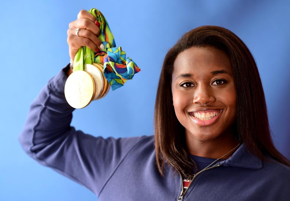 USA Swimmer Simone Manuel