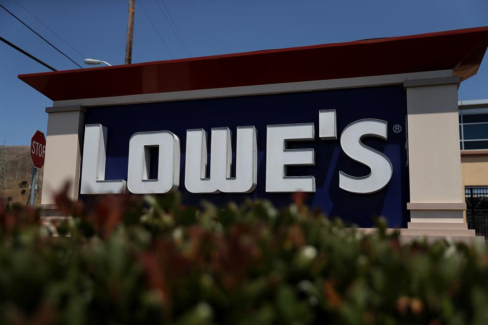 Lowe's Shows Some Love -- To A House