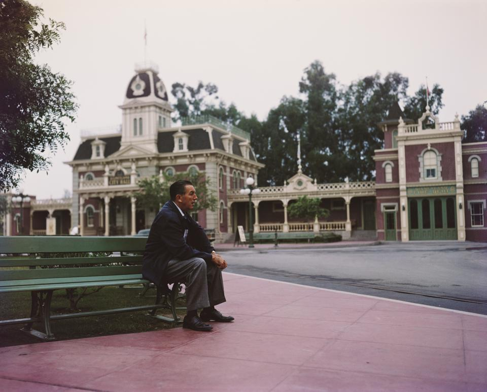 Portrait Of Walt Disney