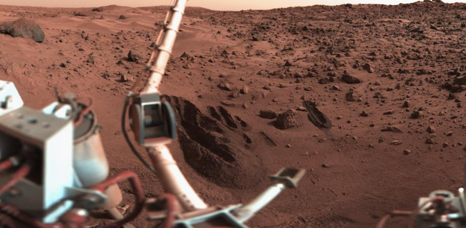 The first truly successful Mars landers, NASA's Viking 1 and 2.