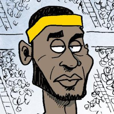 13 NBA Cartoons That Stop The Dribble Penetration