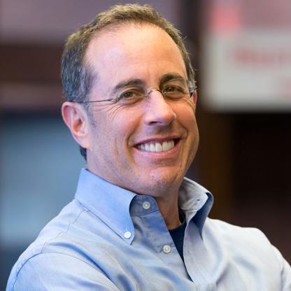 American actor and comedian Jerry Seinfeld