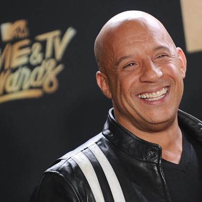 Vin Diesel Imágenes actores pelados famosos fotos hombres calvos graciosos