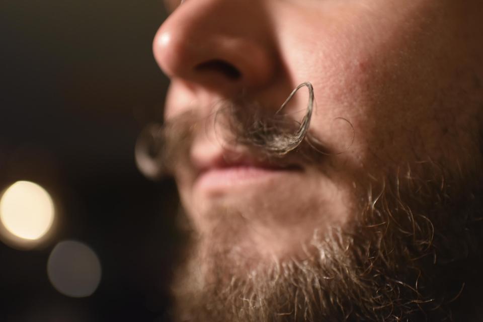 Moustache Selfie!