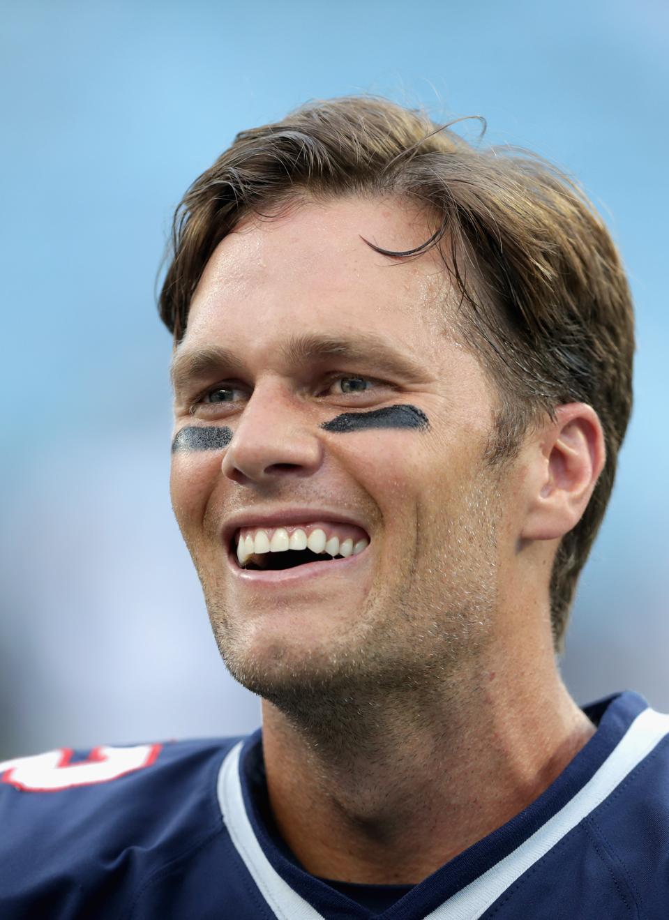 Tom Brady Returns to t...