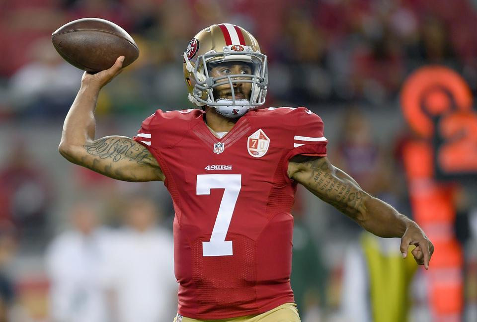 Colin Kaepernick Tops Jersey Sales In NFL