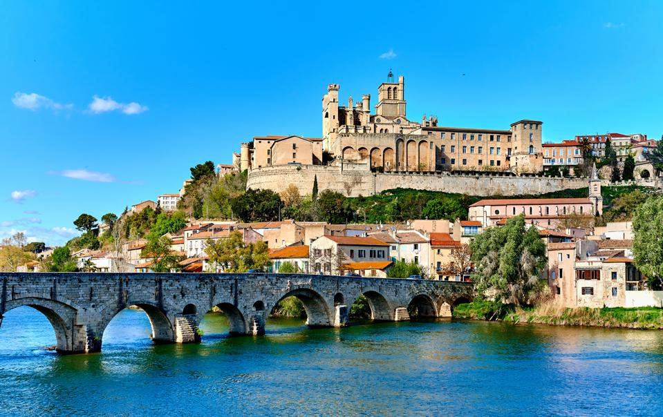 Beziers town. France