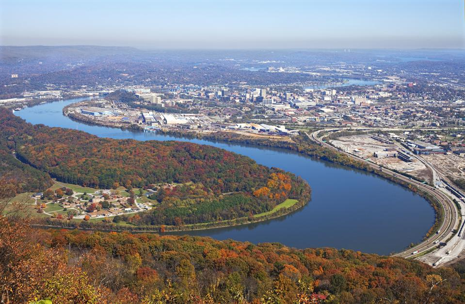 Tennessee's Lookout Mountain