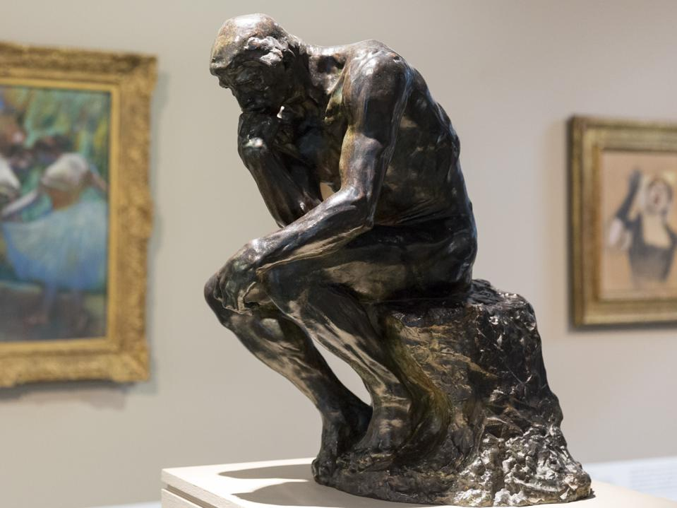 The Thinker by Rodin at Ordrupgaard Museum, Denmark