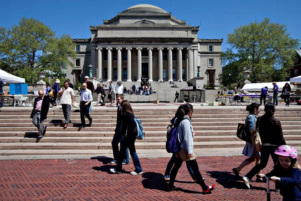 Columbia University's MBA program ranks third in Ready4's ranking of the business schools where students most want to go.