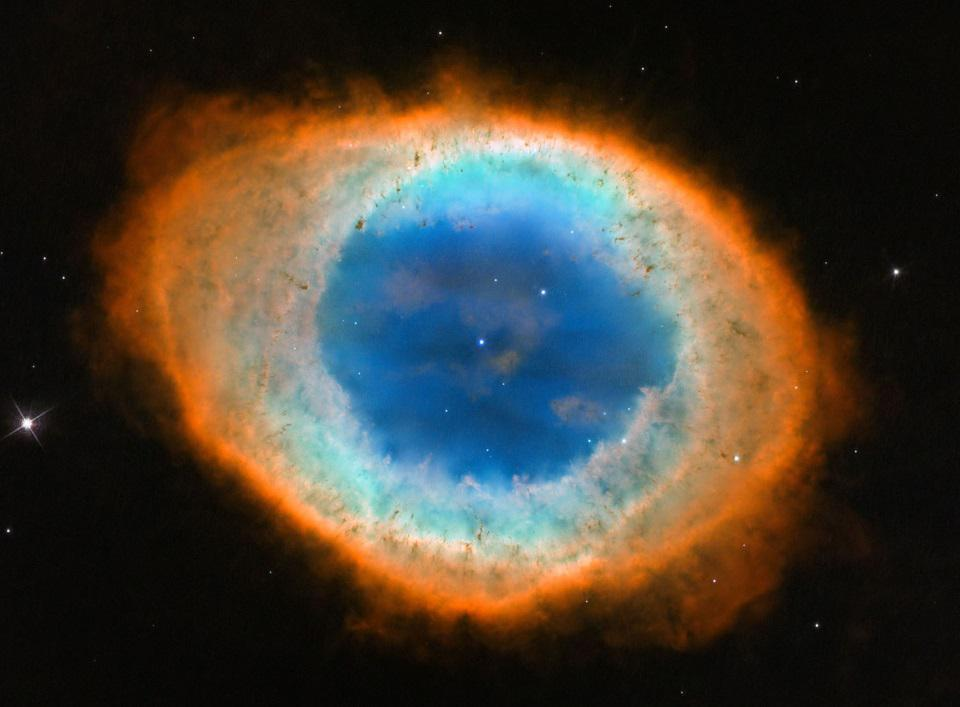 The Ring Nebula, as imaged here by Hubble, is one of the sky's most beautiful objects.