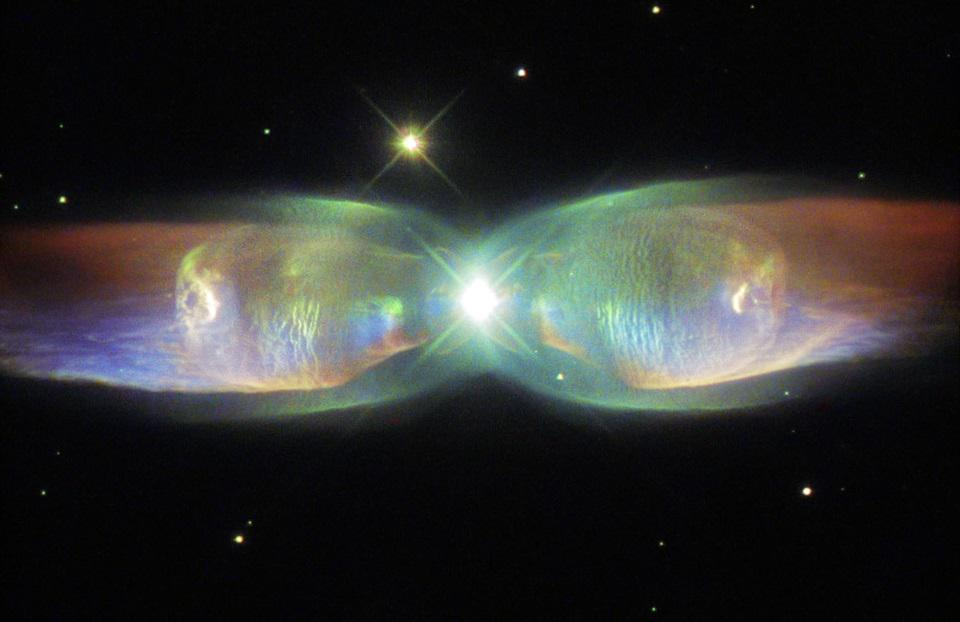 The Twin Jet nebula, shown here, is a stunning example of a bipolar preplanetary nebula.