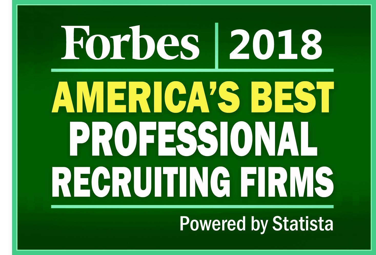 best professional recruiting firms list