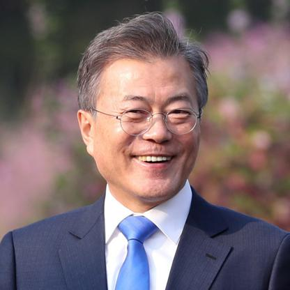 Image result for Moon Jae-in